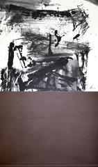 R05  Contemporary Ink Scroll Painting by Lan Zhenghui