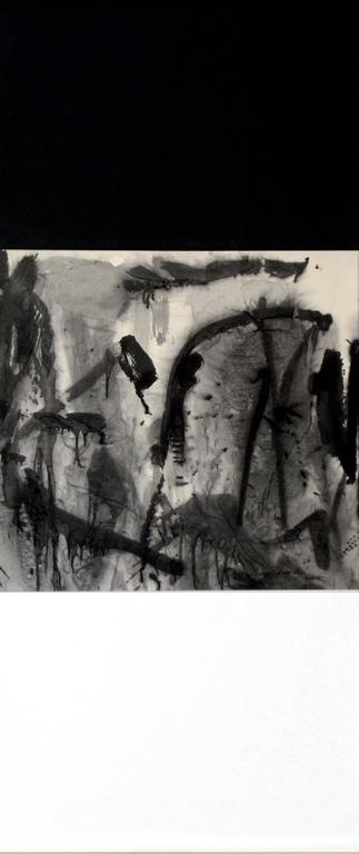 R06  Contemporary Ink Scroll Painting by Lan Zhenghui