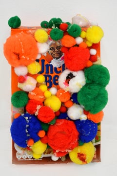 Uncle Ben's Brown Rice in a Bag / Pop Art Sculpture by Jeffrey Hargrave