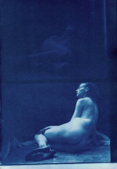 Salt Print Nude Photograph by Hal Hirshorn