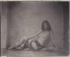 Nude Salt Print Photograph by Hal Hirshorn