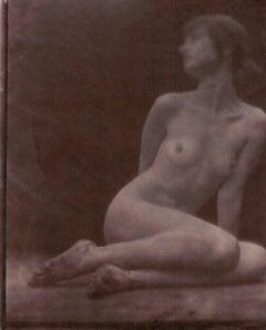 Salt Print Nude Photograph by Hal Hirshorn