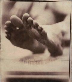 Salt Print Nude Photograph by Hal Hirshorn 2012