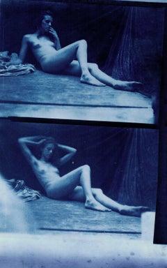 Hal Hirshorn - Salt Print Nude Photograph by Hal Hirshorn