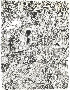 Graffiti Ink Painting by Hu Renyi