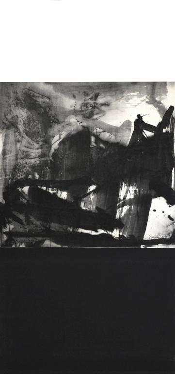 R03 Contemporary Ink Scroll Painting by Lan Zhenghui
