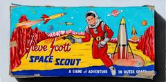 Steve Scott Space Scout Original Oil Painting by K Henderson