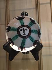 Picasso Ceramic Madoura Ramie 290 Visage
