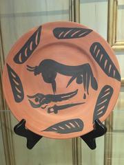 Pablo Picasso - Picasso Ceramic Madoura Ramie 393 Scene de Tauromachie