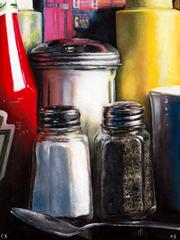 Salt and Pepper Limited Edition on Canvas