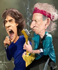 Rolling Stones -- Mick and Keith