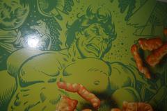 Cheetos Hulk Pop Art Original Oil Painting