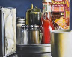 Diner Iconic Original Oil Painting