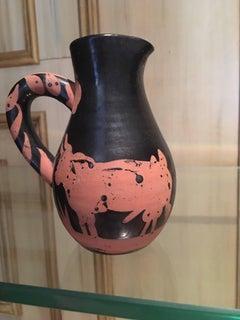 Picador Picasso Ceramic Madoura Ramie 162 Bullfighter Jug