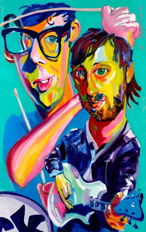 Black Keys The New Yorker Magazine Cover Original Oil Painting
