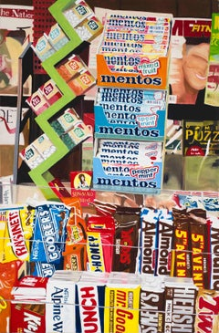 Mentos and Tic Tacs -- Huge Original Oil Painting