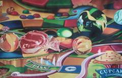 Marbles in Candyland -- Original Oil Painting