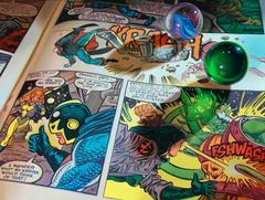 Marbles and Comics #10 Signed and Numbered Limited Edition on Canvas