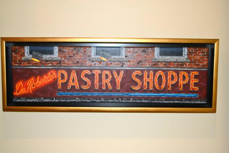 Mark oberndorf de roberti 39 s pastry shoppe original oil for Hendrickson s fine jewelry