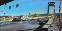 Tenth Street Bridge in Pittsburgh -- Original Oil Painting