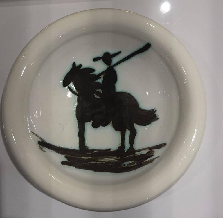 Ceramic Ashtray Picasso Madoura Ceramic Ramie 176