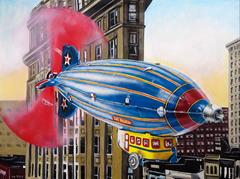 Airship Limited Edition on Canvas