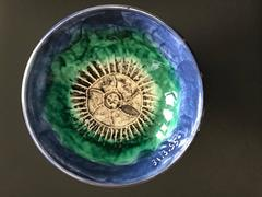 Sea Urchin Bowl Picasso Madoura Ceramic Ramie 268