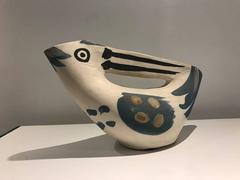 Pichet Anse Prise -- Picasso Madoura Ceramic Ramie 186