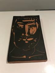 Visage d'Homme -- Picasso Madoura Ceramic Ramie 539