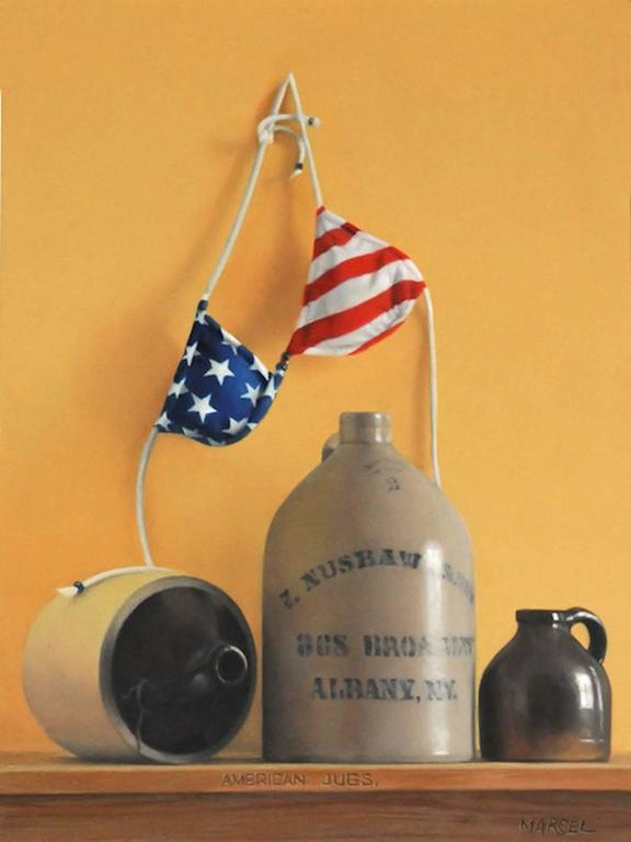 American Jugs -- Original Oil Painting