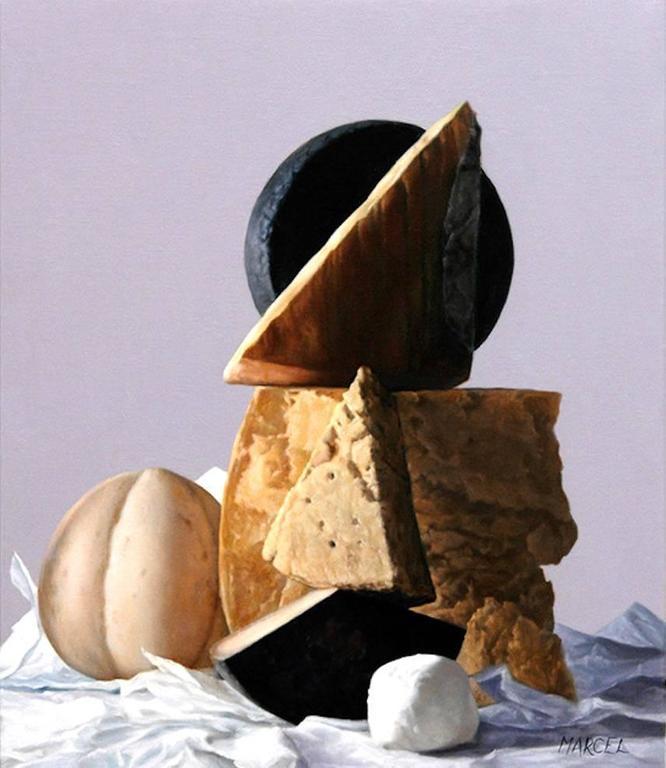 Cheese!  -- Original Oil Painting