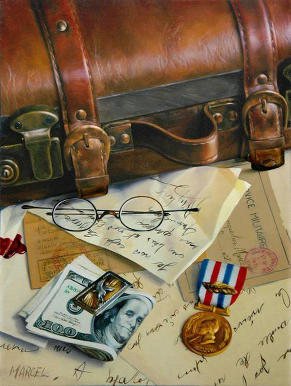 Marcel Franquelin - Far Away (Original Oil Painting) 1
