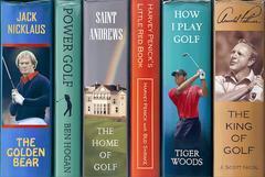 J. Scott Nicol - Power Golf -- Original Oil Painting