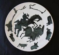 Picasso Madoura Ceramic Ramie 181 Corrida