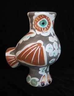Picasso Madoura Ceramic Ramie 543 Chouette