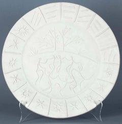 Picasso Madoura Ceramic Ramie 346 Joie De Vivre