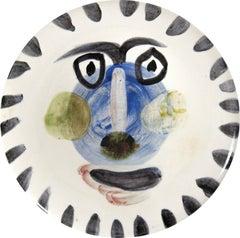 Picasso Madoura Ceramic Ramie 495 Visage no. 202
