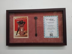 Original Houdini Key From Houdini Museum with Certificate of Authenticity