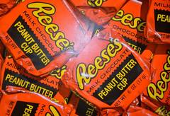 Reese's Peanut Butter Cups Original Oil Painting (Secondary Sale)