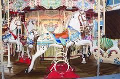 Carousel Original Oil Painting