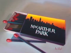 MacArthur Park Original Oil Painting Phillumeny