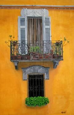 Casa Original Oil Painting