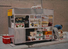 Fruit Stand Original Oil Painting