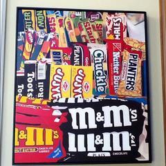 Prefer Peanut Butter or Plain M&M's?  (Original Oil Painting) Sweetness