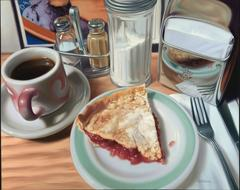 Diner Pie Signed Canvas Limited Edition With Personalized Remarque