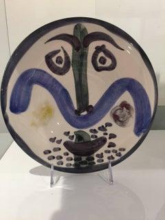 Visage #130 Ramie 479 Picasso Madoura Ceramic