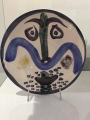Visage #130 Picasso Madoura Ceramic Ramie 479