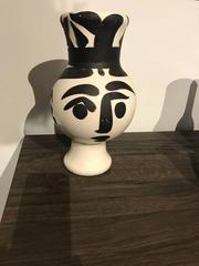 Wood Owl Woman Ramie 119 Picasso Madoura Ceramic