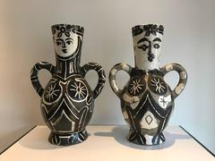 Picasso Madoura Ceramic Ramie 141 and Ramie 213 – King and Queen