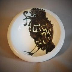 Picasso Madoura Ceramic Ramie 172 Oiseau Au Ver